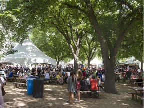 The City of Saskatoon is considering its options for a permanent downtown festival site.