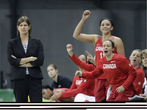 Team Canada head coach Lisa Thomaidis, shown during the 2016 Rio Olympics, is headed to the 2020 Games in Tokyo.