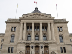 The Saskatchewan government is implementing a work-from-home policy for non-essential employees, as are the cities of Saskatoon and Regina.