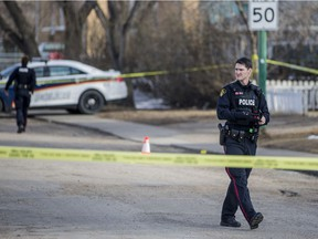 Saskatoon police responded to the scene at Avenue T and 21st Street to investigate the city's fourth homicide of 2020. Tanya Alcrow, 19, was fatally shot.