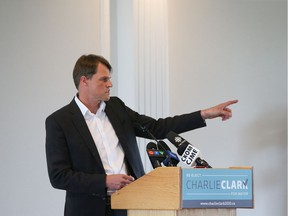 Charlie Clark announced that he will seek a second term as mayor on Wednesday, July 29, 2020.