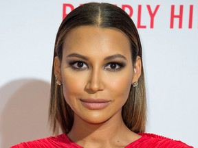 Actress Naya Rivera on April 16, 2016.