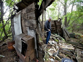Saskatoon StarPhoenix reporter Kevin Mitchell returns to his childhood farmhouse with his nephew Jordan Mitchell to see what is left of it.