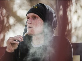Aaron Unger has been prescribed a high dose of medical cannabis to manage his painful Crohn's Disease.