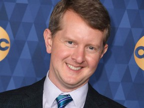 """In this file photo taken Jan. 8, 2020, """"Jeopardy"""" champion Ken Jennings attends ABC's Winter TCA 2020 Press Tour in Pasadena, Calif."""