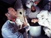 Tom Hanks, Kevin Bacon and Bill Paxton in Apollo 13. If they can make it back, so can we.