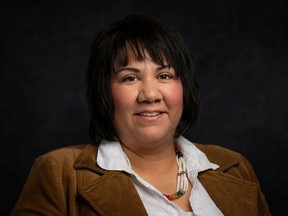 Mosquito Grizzly Bear's Head Lean Man First Nation Chief Tanya Aguilar-Antiman says the First Nation is currently in deliberations over the decision. Photo provided by Chief Tanya Aguilar-Antiman on Jan. 20, 2021. (Saskatoon StarPhoenix).