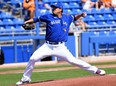 Jays ace Hyun-Jin Ryu struck out two Baltimore Orioles and yielded a homer in two innings of Grapefruit League action yesterday.USA TODAY sports