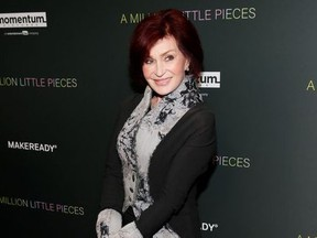 """Sharon Osbourne poses at the LA Special Screening of the film """"A Million Little Pieces,"""" in West Hollywood, California, U.S., December 4, 2019."""