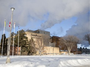 The Queen Elizabeth Power Station in Saskatoon, SK on Wednesday, January 15, 2020.