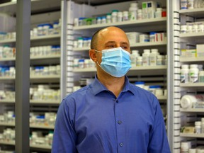Robin Sander is the owner and manager of two locations in Saskatoon that received their first shipment of Pfizer/BioNTech COVID-19 vaccine this week.