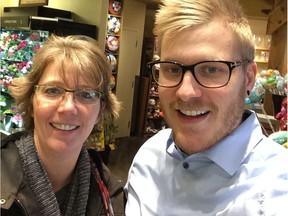 Steven Rigby (right) with his mother Carey Rigby-Wilcox. Photo provided by Carey Rigby-Wilcox.