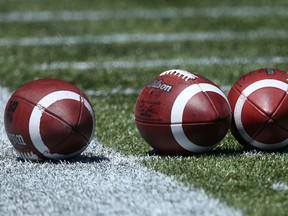 Footballs were back in play, in front of decent-sized crowds, at SMF Field over the weekend.
