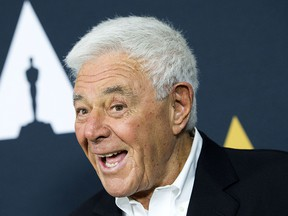 In this file photo taken on June 7, 2017 director/producer Richard Donner attends An Academy Tribute To Filmmaker Richard Donner at The Academy of Motion Picture Arts and Sciences, in Beverly Hills, California.
