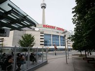 The Rogers Centre in Toronto, home of the Blue Jays.