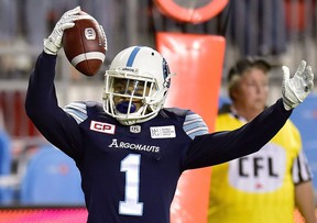 Getting running back Anthony Coombs can only help the Argos' offence. (CP)