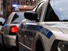 In this file photo, New York Police Department squad cars sit parked on a city street. (Getty Imgaes)
