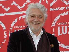 Gilbert Rozon is photographed on the red carpet before the premiere of Cirque du Soleil's Luzia show in Montreal on May 4, 2016. (Marie-France Coallier/Postmedia Network/Files)