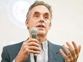 University of Toronto professor Jordan Peterson speaks at th Sandford Fleming building in Toronto on Friday February 3, 2017.