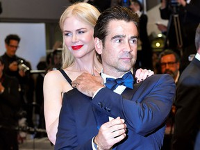 Nicole Kidman and Colin Farrell.  (LOIC VENANCE/AFP/Getty Images)