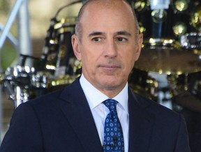 NBC fires Matt Lauer from the Today Show over sexual misconduct allegation.