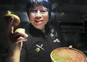 Chef Alvin Leung discusses his experiences with diabetes Nov. 23, 2017.on Thursday November 23, 2017. November is Diabetes Month.