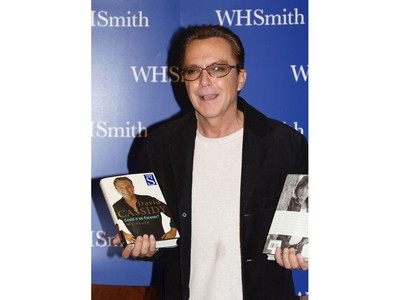 David Cassidy signs copies of his new book