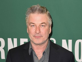 Actor Alec Baldwin arrives at Barnes & Noble Union Square in New York on April 4, 2017, to sign his new book 'Nevertheless: A Memoir.' (ANGELA WEISS/AFP/Getty Images)