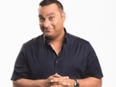 Russell Peters plays Doug D'Mello in CTV's The Indian Detective. (CTV)