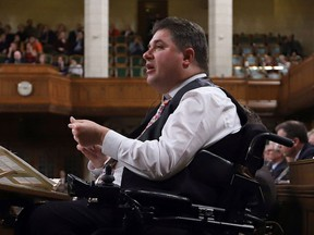 Disabilities Minister Kent Hehr. THE CANADIAN PRESS/Fred Chartrand