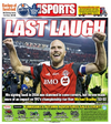 The Toronto Sun sports cover days after TFC lifted its first MLS Cup.