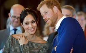 Prince Harry and his fiancee  Meghan Markle  (AFP PHOTO/GETTY IMAGES)