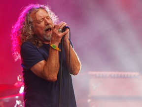 Robert Plant and The Sensational Space Shifters perform at Toronto's Massey Hall Feb. 17 (Wade Payne/Invision/AP, File)