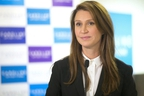 Ontario PC Leadership candidate Caroline Mulroney addresses the media in her campaign office in Toronto on Friday February 23, 2018.  THE CANADIAN PRESS/Chris Young