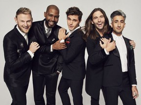 Queer Eye hopes to make over more than just gay men in future seasons. COURTESY: NETFLIX