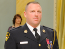 OPP Const. James Orser was awarded a Medal of Bravery in 2009 by then governor general Michaëlle Jean but now out of a job after showing sex video of a former lover to fellow officers.