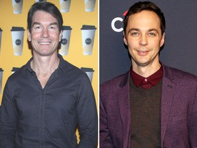 "Jerry O'Connell (L) will play the older brother of Jim Parsons' character Dr. Sheldon Cooper on ""The Big Bang Theory."" (Randy Shropshire/Getty Images for McDonald's/Christopher Polk/Getty Images)"