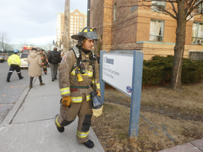 A fire at a TCHC seniors residence at 1315 Neilson Rd. killed four residents and hospitalized 15 others on Friday, Feb. 5, 2016.