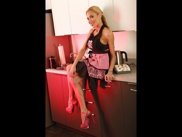 SUNshine Girl Krysta Lee is back for her baker's dozenth time for shooting - her 13th with the Sun - and even brought cupcakes. She is a lively Libra who has the Country singer in her soul and voice as she acts, writes music, sing and has a love for her menagerie of pets. . Jack Boland/Toronto Sun/Postmedia Network
