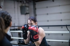 Alison Turnbull, a professional headhunter by day, will be boxing  in the annual Fight to End Cancer Gala at The Old Mill in Etobicoke on June 2.Virgil Barrow/photo