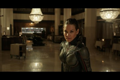 Evangeline Lilly in a scene from Ant-Man and The Wasp. (Marvel Studios)