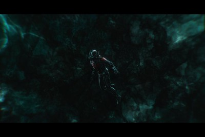 Ant-Man inside the Quantum Realm in a scene from Ant-Man and The Wasp. (Marvel Studios)