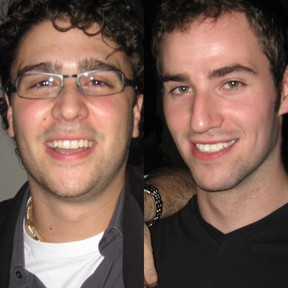 Oliver Martin (left), 25, and Dylan Ellis, 26, were shot to death as they sit in an SUV on Richmond St. W., near Walnut Ave., on Friday, June 13, 2008, and their killer has never been found. (Toronto Police handout photos)