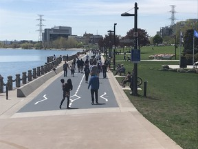 Spencer Smith Park in Burlington is a perfect getaway for dog-walkers, joggers, cyclists and families.