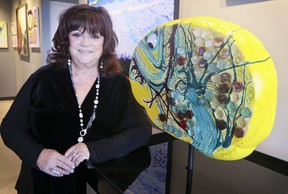 """The unveiling of """"My Mind is Swimming,"""" by artist Gina Godfrey on Wednesday June 13, 2018. Veronica Henri/Toronto Sun/Postmedia Network"""
