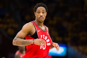 DeMar DeRozan is going to have to step on the defensive end next season. Jason Miller/Getty Images)