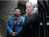 (FILES) In this file photo taken on March 26, 2018, British musician and singer Gordon Sumner aka Sting (R) and Jamaican musician and singer Orville Richard Burrell aka Shaggy (L) pose in Paris.    Sting and Shaggy will release their album '44/876'.  / AFP PHOTO / PATRICK KOVARIKPATRICK KOVARIK/AFP/Getty Images