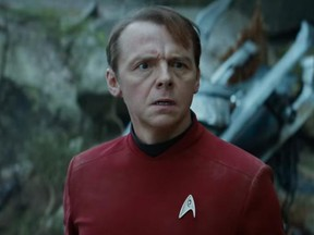 Simon Pegg in a scene from Star Trek: Beyond. (Paramount Pictures)
