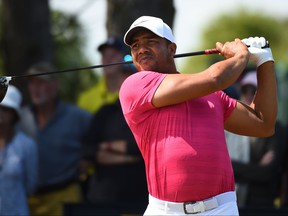 Venezuela's Jhonattan Vegas is looking to win his third straight Canadian Open. GETTY IMAGES