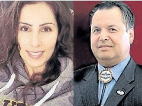 Brittany Beaver, left, and Ken Hill (Postmedia file)